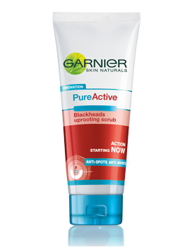 Garnier Pure Active Blackheads uprooting scrub