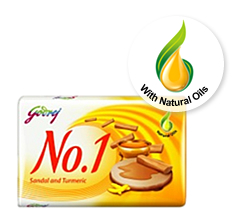 Godrej No. 1 Sandal Soap- 70gm - Click Image to Close