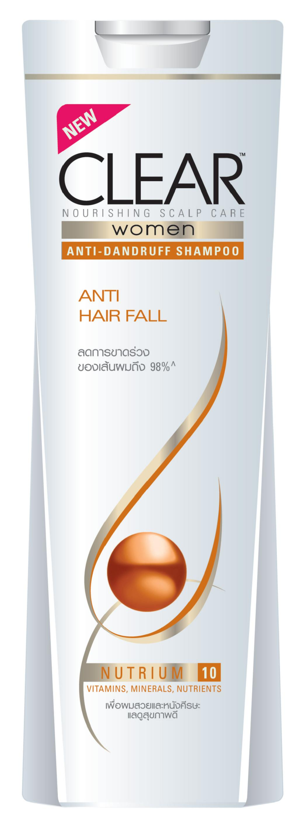 CLEAR Anti Hair Fall Shampoo for Women
